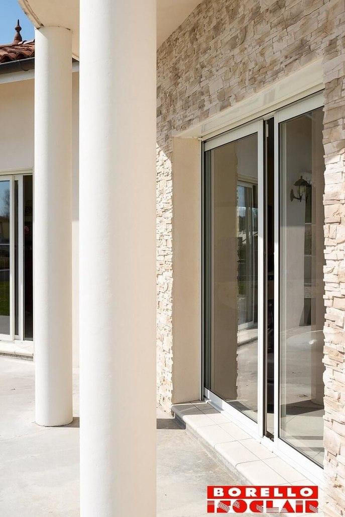 Fenêtres Aluminium à Saint Clair De La Tour Borello Isoclair